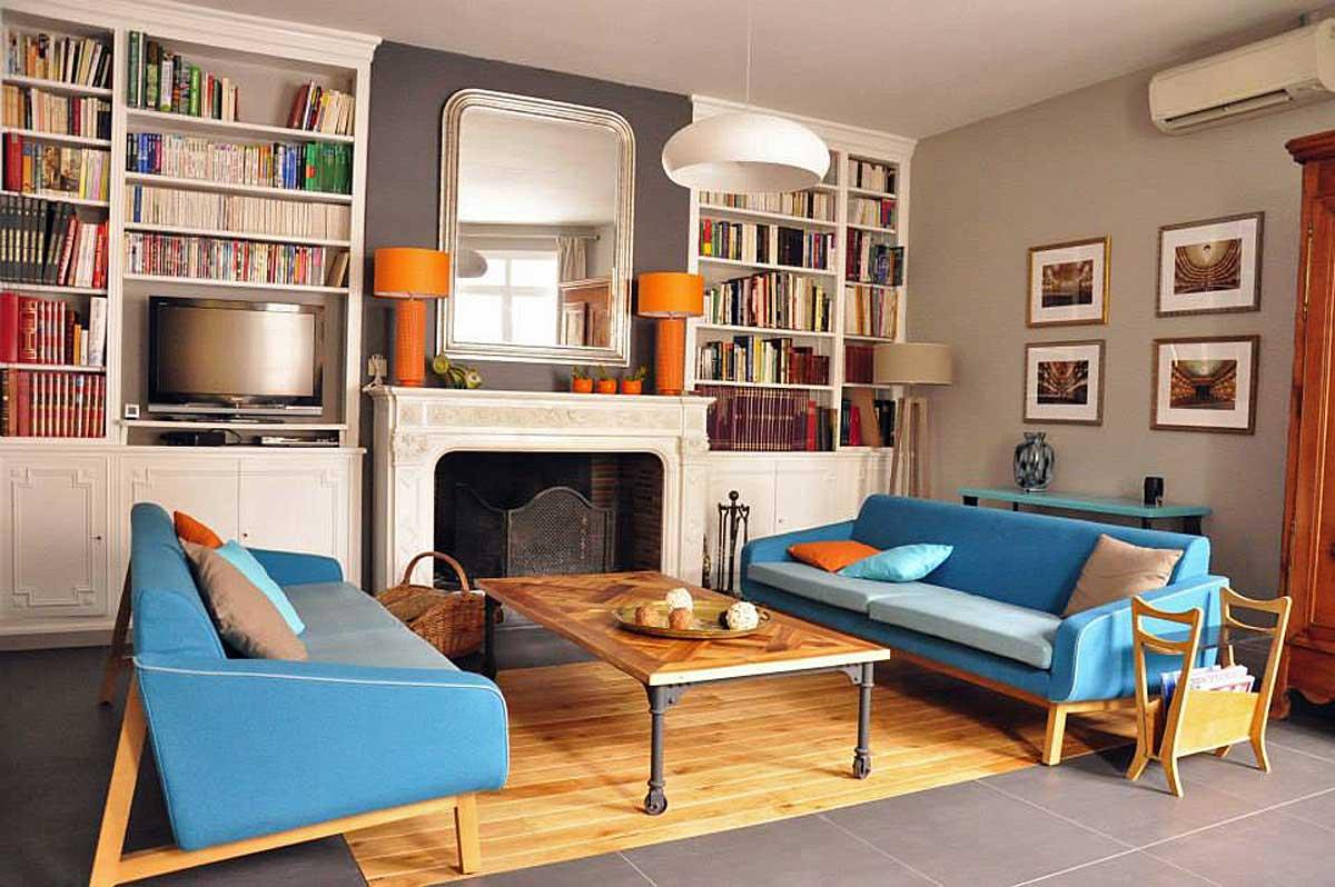 La Villa - Bordeaux Chambres d'hôtes, Gironde : le salon