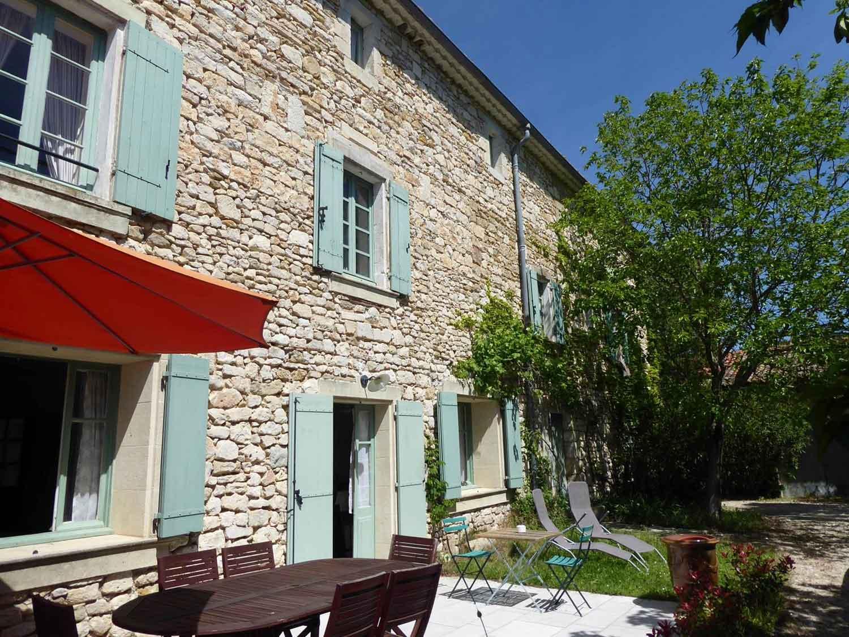 Le Mas des Sages, chambres d'hôtes près d'Uzès dans le Gard en région Occitanie