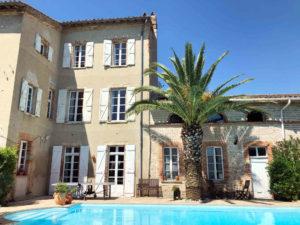 Maison Joséphine, chambres d'hôtes avec piscine entre Toulouse et Carcassonne (Villenouvelle, Haute-Garonne, Occitanie)