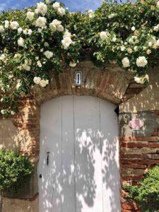 Porte Jardin, Maison Joséphine Villenouvelle, Haute-Garonne