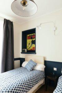 Chez Pépé Merle Paris 11e : chambre Saint Michel