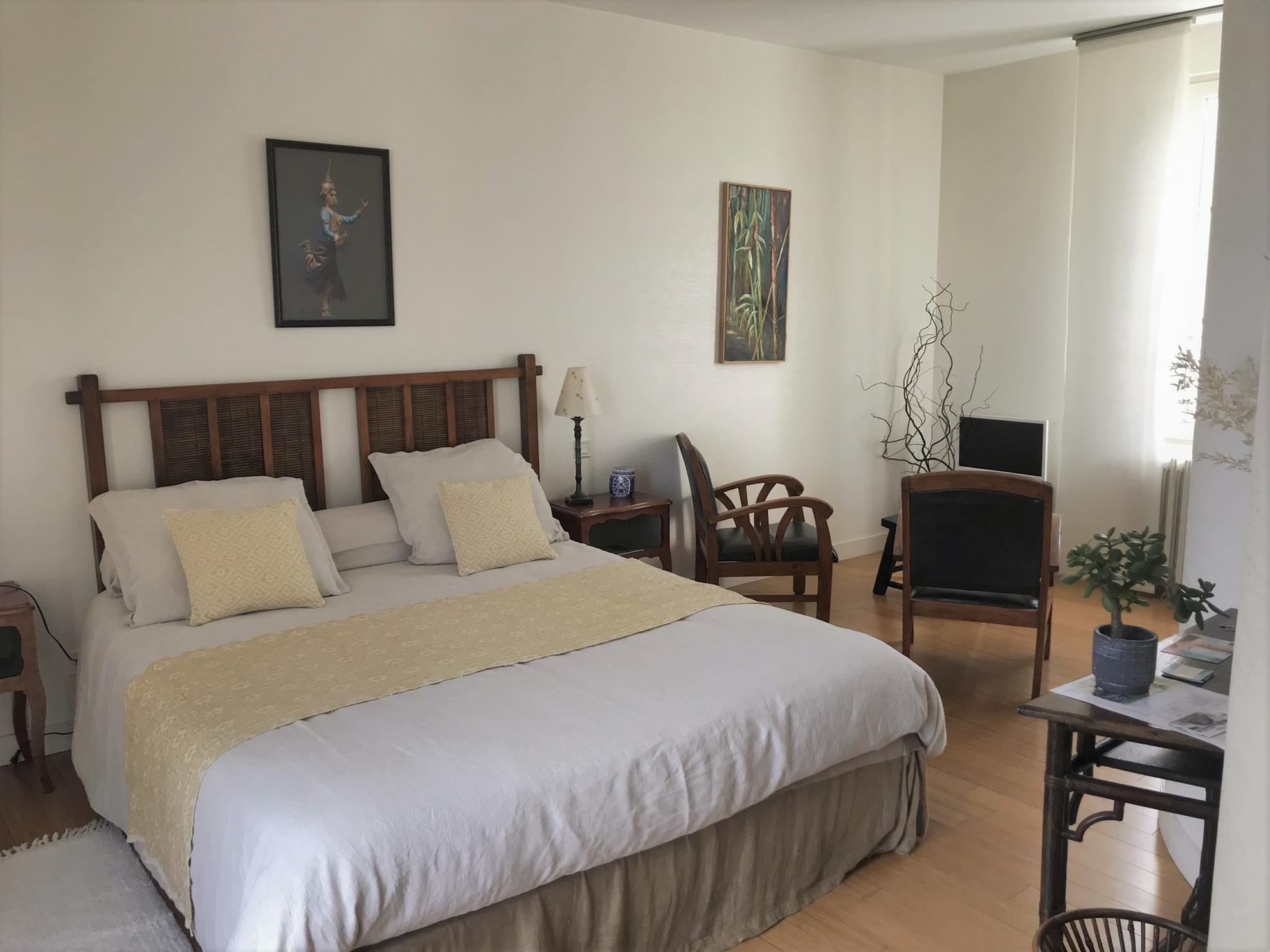 Chambre Ikebana (L'Amour de la Loire)